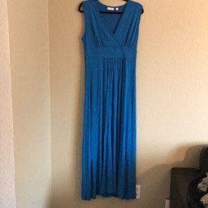Maxi Dress, Blue